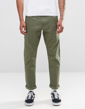Зеленые чиносы с 5 карманами Ftm 685949-222 Nike SB