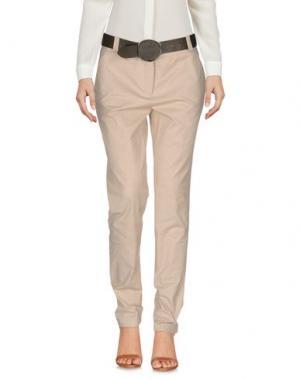 Повседневные брюки ALBA CONDE. Цвет: песочный