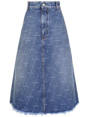 Юбка джинсовая BALENCIAGA