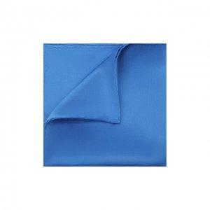 Шелковый платок Brioni. Цвет: синий