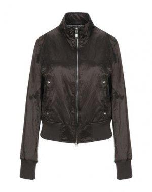 Куртка REFRIGUE. Цвет: темно-коричневый