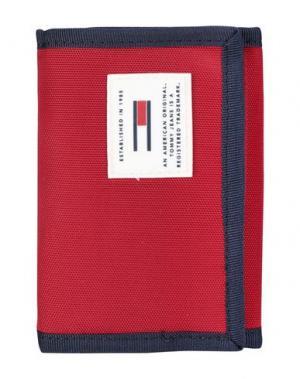 Бумажник TOMMY JEANS. Цвет: красный