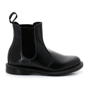 Ботинки-челси кожаные Flora DR MARTENS. Цвет: черный