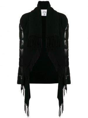Cloak poncho coat Moncler. Цвет: черный