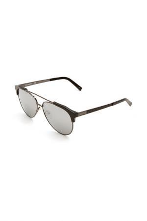 Очки солнцезащитные Karl Lagerfeld. Цвет: 507 черный, серый металлик