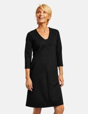 2202-98043-44000 платье женское (size 44, color BLACK; code 11000) GERRY WEBER. Цвет: черный