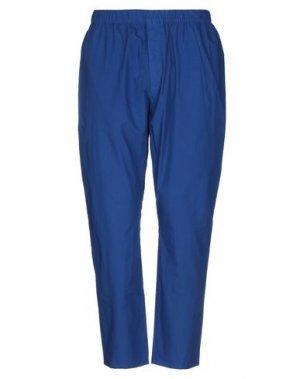 Повседневные брюки LOREAK MENDIAN. Цвет: синий