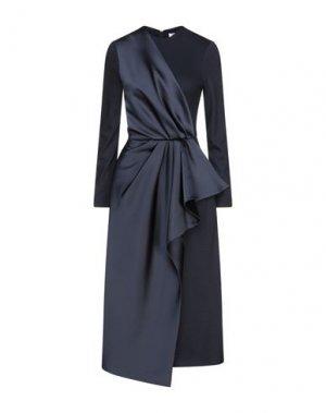 Платье длиной 3/4 DICE KAYEK. Цвет: темно-синий