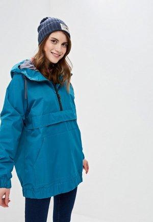 Куртка утепленная Free Flight. Цвет: бирюзовый