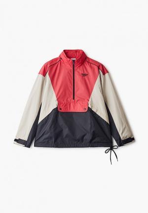 Куртка Reebok Classics. Цвет: разноцветный