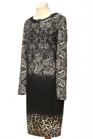 Платье Alkis. Цвет: черный