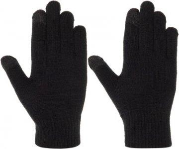 Перчатки для мальчиков , размер 18 Demix. Цвет: черный