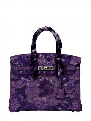 Pristine, Birkin 30cm, Tie Dye, Iris, Leather Togo, PHW - Final Sale Jay Ahr. Цвет: purple