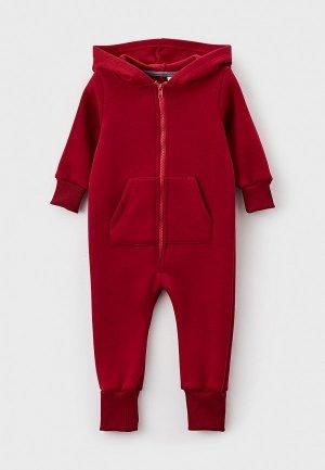 Комбинезон Trendyco Kids. Цвет: бордовый