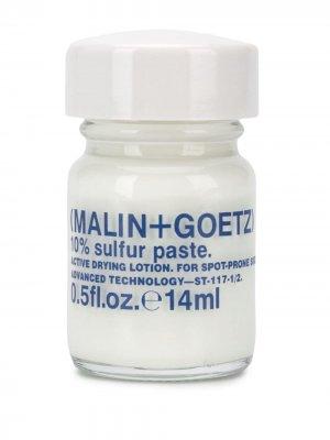 Паста 10% Sulphur MALIN+GOETZ. Цвет: белый