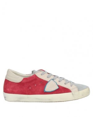 Кеды и кроссовки PHILIPPE MODEL. Цвет: серый