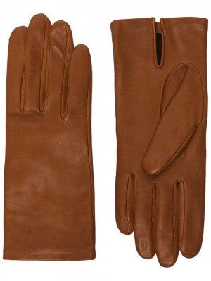Перчатки Kate Agnelle. Цвет: коричневый