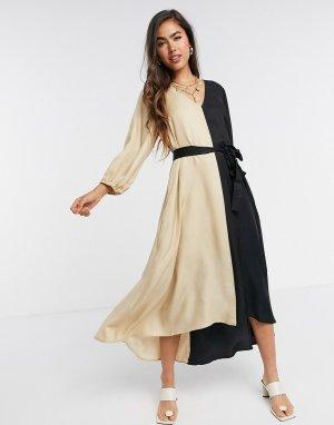 Монохромное платье свободного кроя -Многоцветный Gestuz