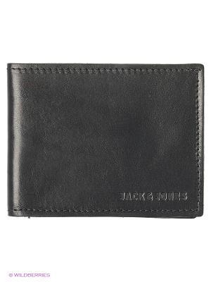 Кошелек Jack&Jones. Цвет: черный