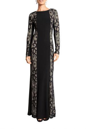 Платье Apart. Цвет: черный, телесный