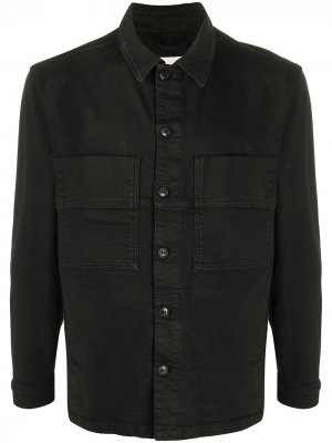 Джинсовая рубашка Chinos Maker Haikure. Цвет: черный