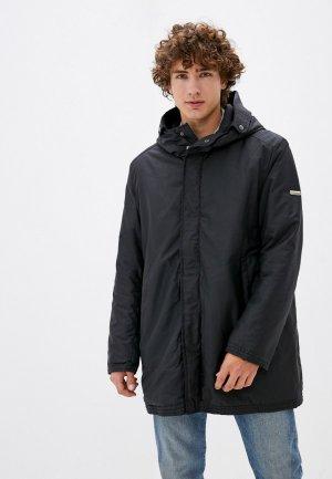 Куртка утепленная Trussardi Collection. Цвет: черный