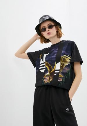 Парка adidas Originals WINBREAKER. Цвет: черный