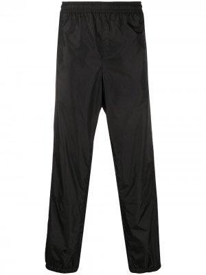 Спортивные брюки с логотипом Acne Studios. Цвет: черный