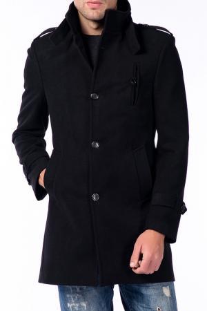 Пальто Harrison. Цвет: черный