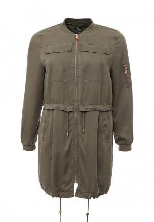 Куртка Ulla Popken. Цвет: зеленый