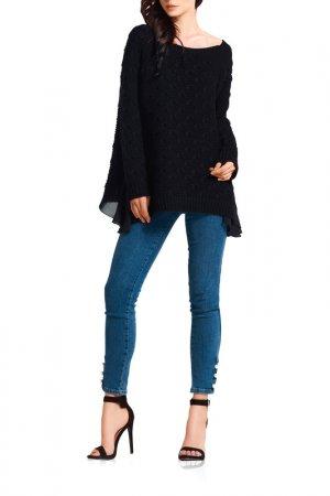 Пуловер Lemoniade. Цвет: черный