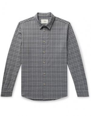 Pубашка FOLK. Цвет: серый