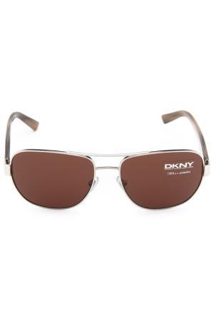 Очки солнцезащитные DKNY. Цвет: 101073