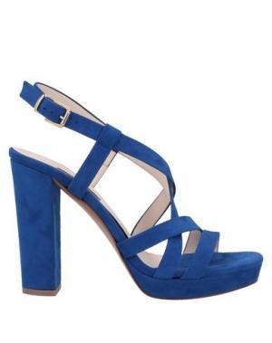 Сандалии L'AMOUR. Цвет: синий