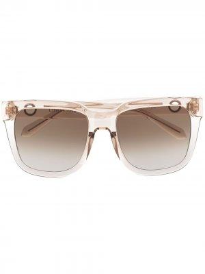 Солнцезащитные очки Freya Linda Farrow. Цвет: нейтральные цвета