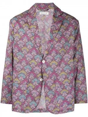 Пиджак с принтом Liberty Mackintosh. Цвет: розовый