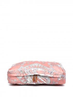 Косметичка с принтом Rugiada Emilio Pucci. Цвет: розовый