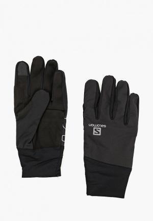 Перчатки Salomon SA007DUBOID9. Цвет: черный