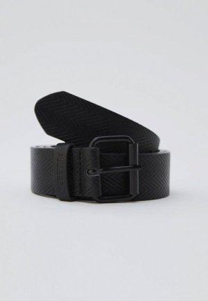 Ремень Pull&Bear. Цвет: черный