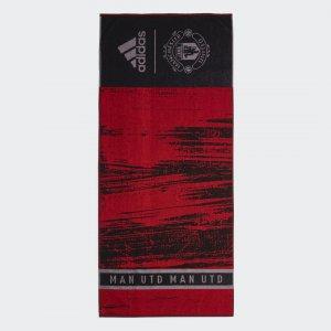 Полотенце Манчестер Юнайтед Performance adidas. Цвет: черный