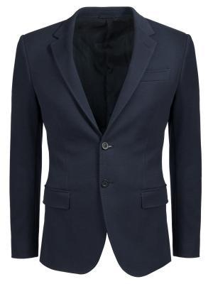 Пиджак из хлопка Dirk Bikkembergs. Цвет: синий