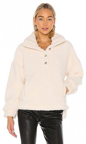 Пуловер saturn Tularosa. Цвет: ivory