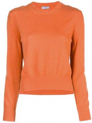 Укороченный пуловер Rosetta Getty. Цвет: оранжевый