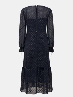 Платье Marc Cain. Цвет: siniy