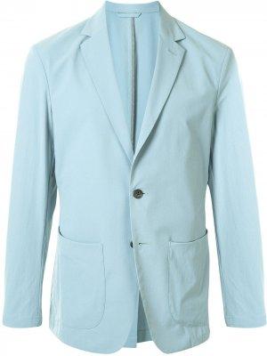 Durban пиджак строгого кроя D'urban. Цвет: синий