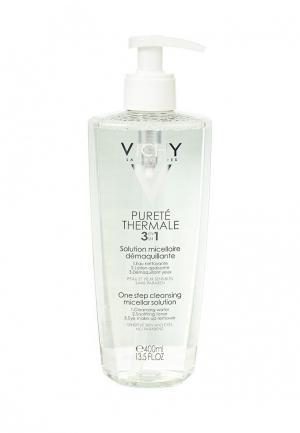 Лосьон для лица Vichy мицеллярный, PURETE THERMALE, снятия макияжа, 400 мл. Цвет: прозрачный
