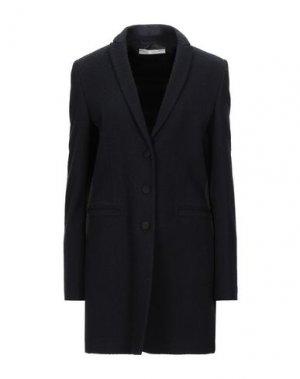 Пальто DANIELE ALESSANDRINI. Цвет: темно-синий