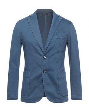Пиджак EXIGO. Цвет: грифельно-синий