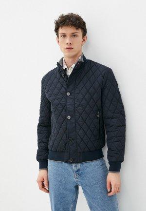 Куртка утепленная Jorg Weber. Цвет: синий