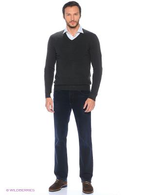 Пуловер Alcott. Цвет: серо-зеленый